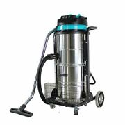 Higa 220v Industrial Vacuum Cleaner Wet Dry 90l Vac Blower Stainless Steel 3000w