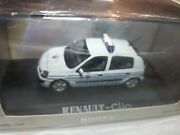 Norev Renault Clio Police Paris Uncirculated To The / Of 1 /43anddeg 086