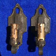 Lincoln 904 Wall Sconce Pair Light Fixture Lamp Vintage Victorian Art Deco