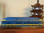 Cmr Line China Railway Nd4 French Blue Diesel Locomotive - Ho Scale
