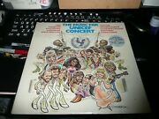 1979 Music For Unicef Concert Lp - Olivia Abba Bee Gees Ewf Rod Stewart Sealed