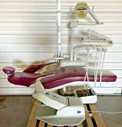Pelton And Crane Sprit 1500 Sp-15 Full-op Dental Chair W/ Light Post Mt. Delivery