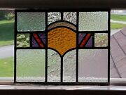 Antique English Leaded Stained Glass Window Baltimore Md Area