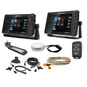 Lowrance Hds Live Bundle - 9 Andamp 12 Display Ai 3-in-1 T/m Transducer Poi...