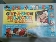 Vintage 1963 Chad Valley Give A Show Projector Boxed And Working