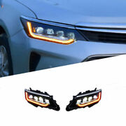 For Camry 15-17 Led Daytime Running Lights Dynamic Signal Xenon Lo/hi Beam