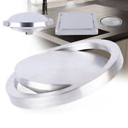 Stainless Steel Flush Recessed Built-in Balance Swing Flap Lid Trash Bin Cover