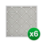 Replacement Pleated Air Filter For Honeywell Fc100a1029 Ac 16x25x5 Merv 8 6 Pack