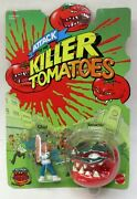 Chad And Tomacho Attack Of The Killer Tomatoes Figures Mint On Card 1991 Mattel