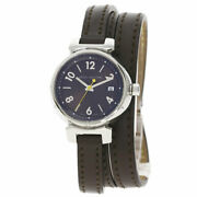 Louis Vuitton Tambour Trip Luco Ird Watches Q1211 Stainless Steel/leather Mens