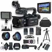 Canon Xa15 Compact Full Hd Camcorder With Sdi Hdmi And Composite Bundle 1