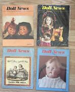 Ufdc Doll News 4 Magazine Lot Complete 1989 Spring Summer Fall Winter Paper