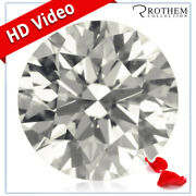 Real 1.37 Ct Unmounted Round Diamond 6.7 Mm K Si1 Sale Individual 29950657