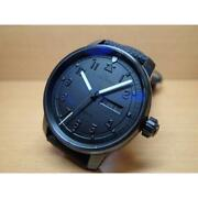 Fortis Blackout 2 704.18.11bo Japan Limited Automatic Black Ss Leather Round 034