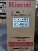Rinnai V75in 7.5 Gpm Residential Indoor Natural Gas Tankless Water Heater
