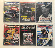 Winston Cup Illustrated Magazine Lot Of 6 Dale Earnhardt 1990s Opened Racing