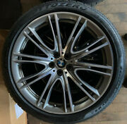 Bmw 7 Series Tire+rims For 2018 750i X-drive Individual Rims W/ Good M+s Tires