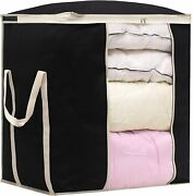 Misslo King Comforters Storage Bag 120l For Blankets Clothes Sweaters...