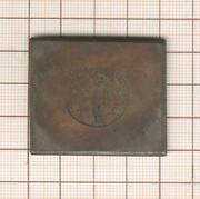 Rare Document Plate Copper Engraved Mint Antique For Feature Coin
