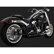 Vance And Hines Black Short Shots Staggered Exhaust System - 47235 No Ship To Ca