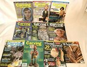 10 Carving Magazines Lot Pull Out Patterns Wood Gnome Village Wooden Christmas