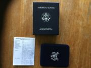 2000 American Silver Eagle P Proof Ogp And Cert