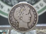 1913 P Barber Half Dollar 50c 8 East Coast Coin And Collectables Inc.