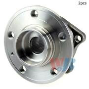 For Volvo S60 V70 Xc70 S80 Rear Set Of 2 Wheel Bearing And Hub Assembly Wjb