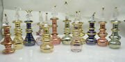 Lot Of 100 Mouth Blown Egyptian Glass Perfumes Bottles 2