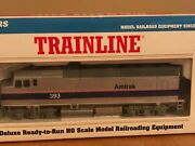 Amtrak Walthers Trainline Phase Iv Engine 393. New In Box. Rare