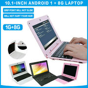 10.1and039and039 Mini Android 5.1 Laptop 1g+8g Notebook Netbook Computer 1.5ghz Kids Gift