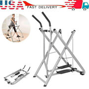 Glider Elliptical Machine Home Fitness Exercise Foldable Air Walkers Workout Gym