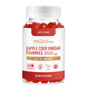 Apple Cider Vinegar Gummies With The Mother 30 Servings - 1000mg
