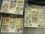 Vintage Lenox 1989 Hand Crafted Carousel Ornaments Set Of 24 In Box - Retired