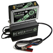 Braille Auto Battery Lithium Ion Super 16 Volt Battery W/charger B168lc