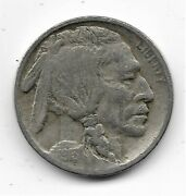 1913-d Buffalo Nickel Type 1 - Fine Condition