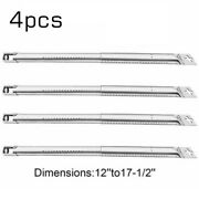 4pcs Scalable Bbq Gas Grill Universal Replacement Stainless Steel Tube Burners