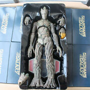 1/6 16.53 Masterpiece Guardians Of The Galaxy Pvc Groot Treeman Figure With Box