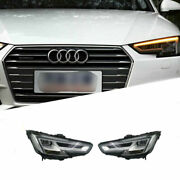 For Audi A4 2016 Led Daytime Running Lights Dynamic Signal Xenon Lo/hi Beam