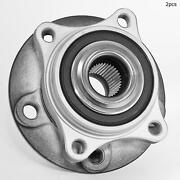 For Volvo S60 S80 V70 Xc70 Front Set Of 2 Wheel Bearing And Hub Assembly Fag