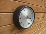 Vintage Wall Clock Synchronome London. Restored And Updated. Battery Powered.