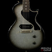 New Rock N Roll Relics Thunders Sc Lp Jr Style Custom Guitar Silver Sparkle