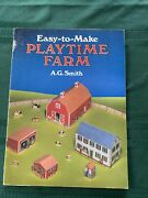 A. G. Smith Old Fashioned Farm 9 Buildings To Make In Ho Scale 1983