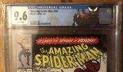 Amazing Spiderman 361 Cgc 9.6 Key Issue Hot Book Custom Carnage Label First App