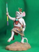 Hopi Kachina Doll - The Warrior Mouse By Cecil Calnimptewa - Nowand039s Your Chance