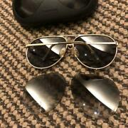 Porsche Design By Carrera Sunglasses Men's With Spare Lens And Case Used Vintage