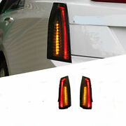 For Cadillac-ats 14-17 Led Taillight Brake Trunk Light Dynamic Turn Signal