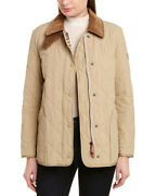 Diamond Quilted Thermoregulated Barn Jacket Womenand039s Xs