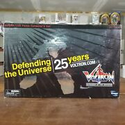 Voltron Lion Force Collector's Set - Toynami 25th Anniversary 2010 - Open Box