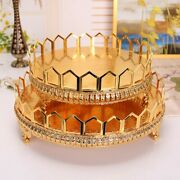 Tray Cake Stand Wedding Ornament Home Tool Elements Holder Bake Suitable